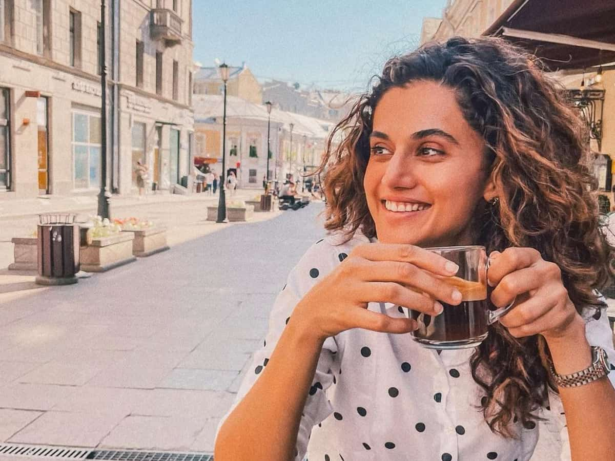 Taapsee Pannu celebrates 34th birthday on 'Blurr' sets, shares philosophical post