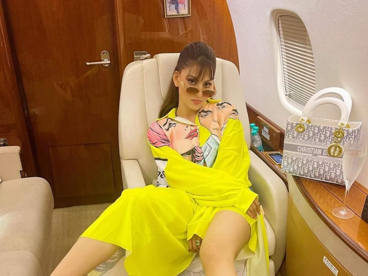 Urvashi gives sneak peek into Ambani's luxurious private jet [Photos]