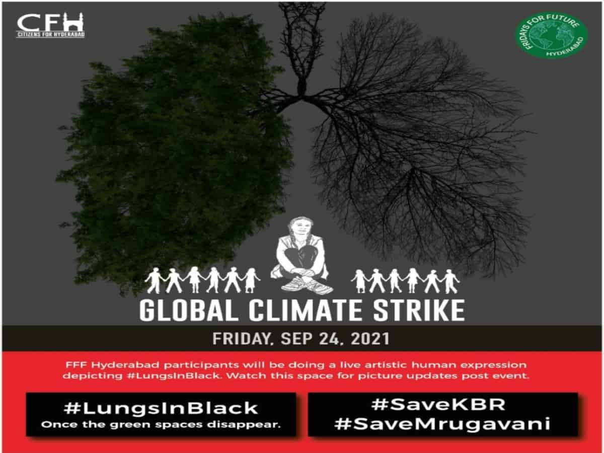 Hyderabad: Fridays For Future to hold protest as part of 'Global Climate Strike' tomorrow