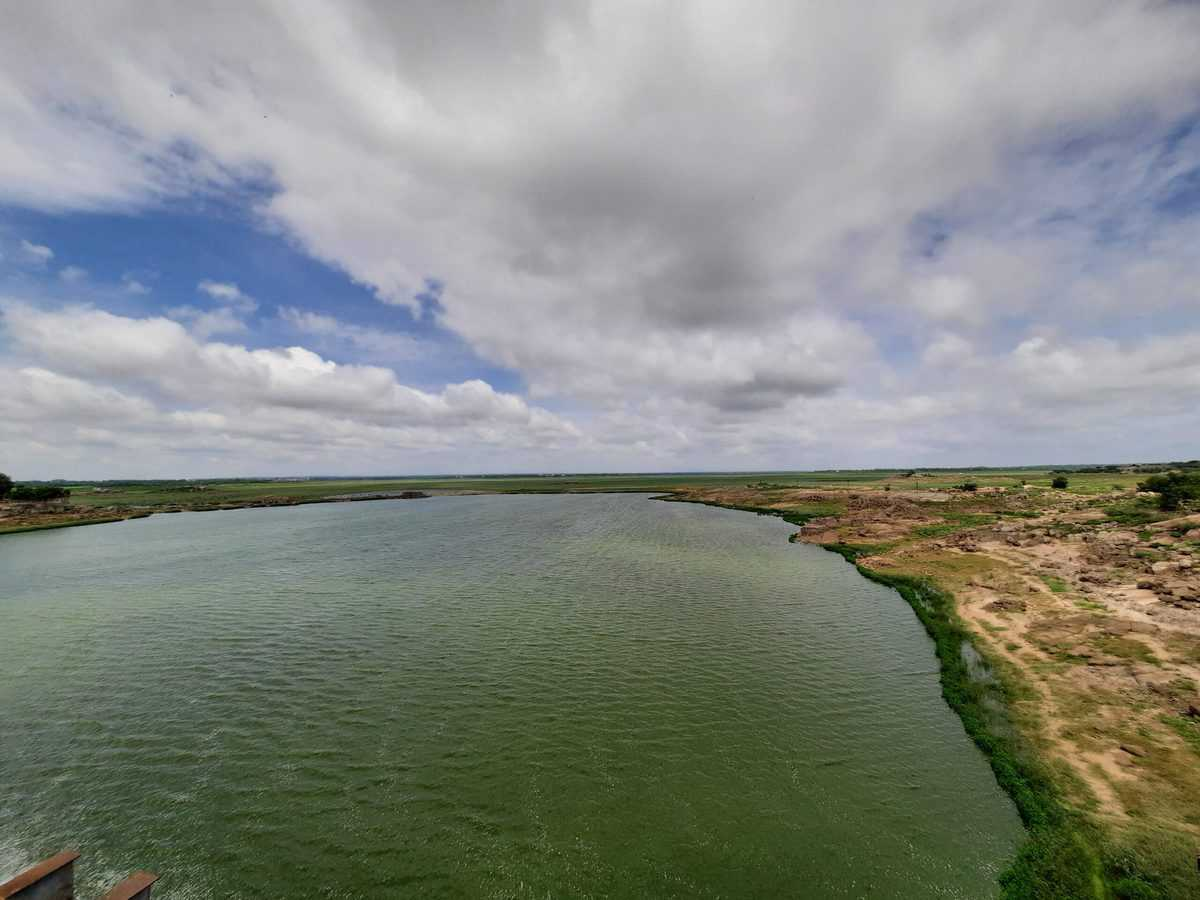Two more gates of Osman Sagar lifted as lake overflows due to heavy rain