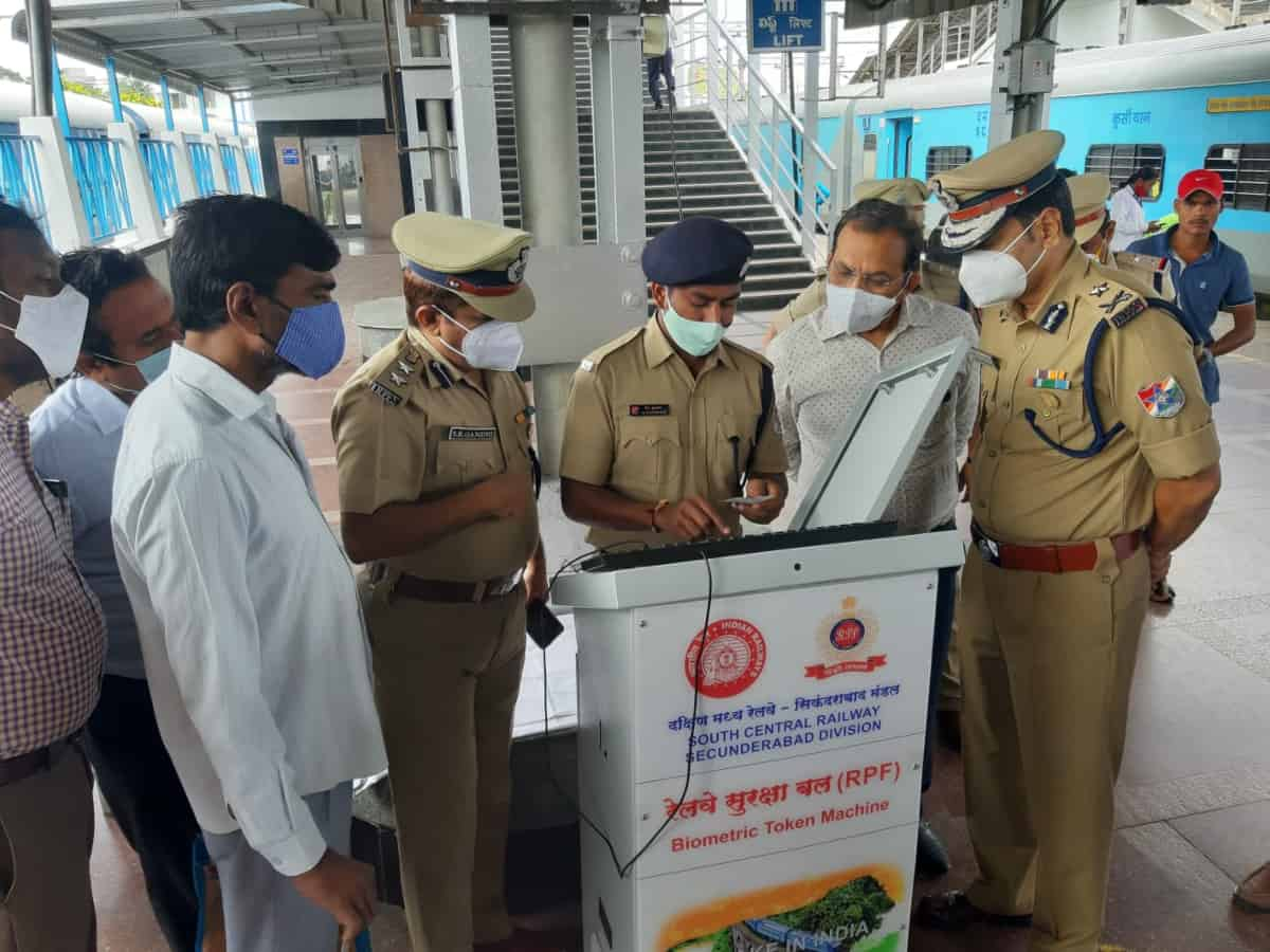 In a first, Biometric Token Machine installed at Secunderabad railway station