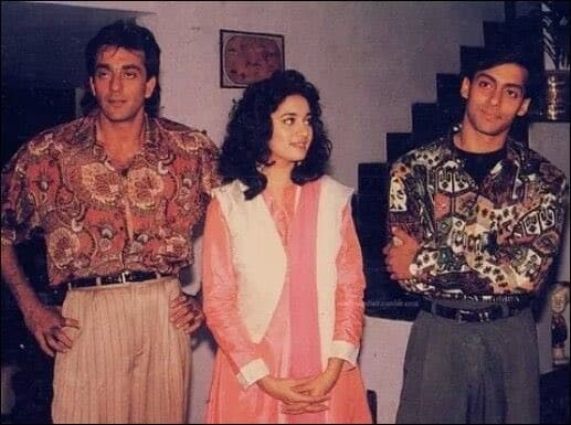 Throwback: Was Madhuri responsible for Salman, Sanjay's ugly fight?