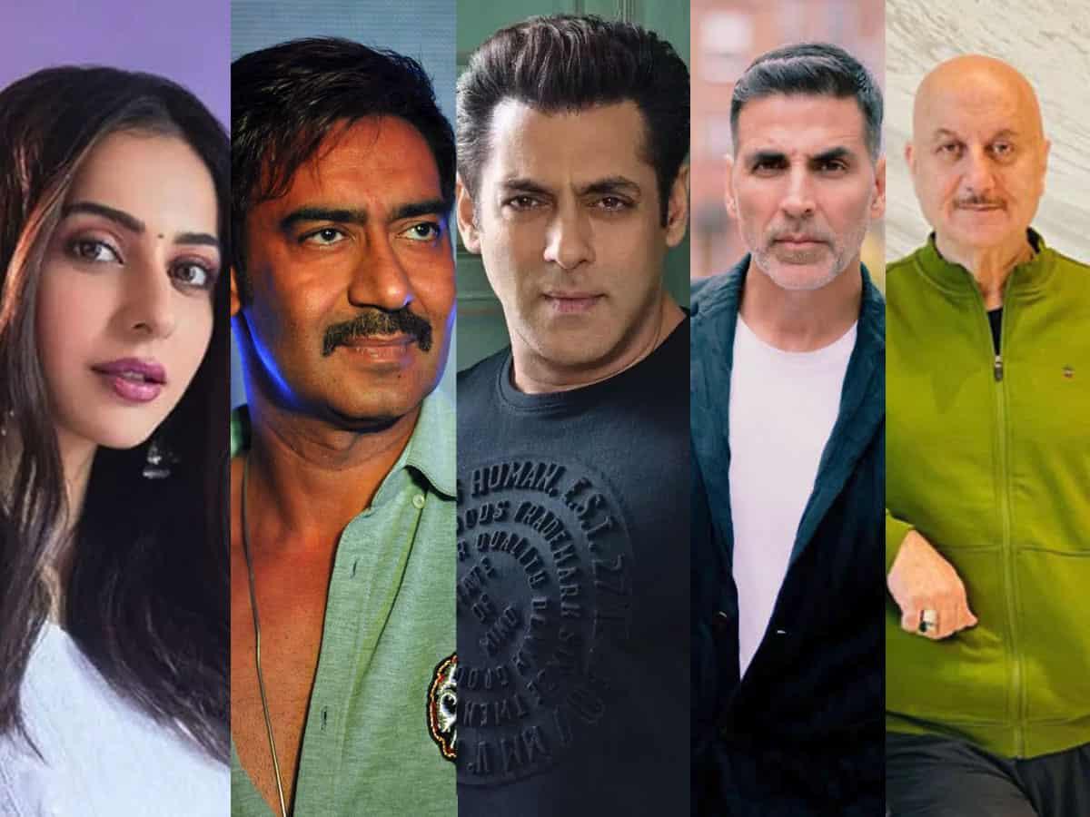 Case filed against Salman Khan, Rakul Preet, 36 other film celebs
