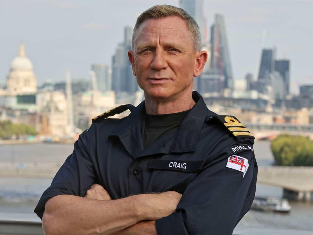 Daniel Craig named honourary Royal Navy commander