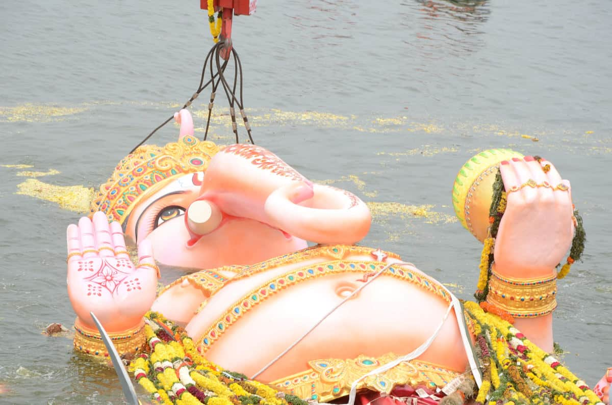 Hyderabad: Stage set for mammoth Ganesh immersion procession