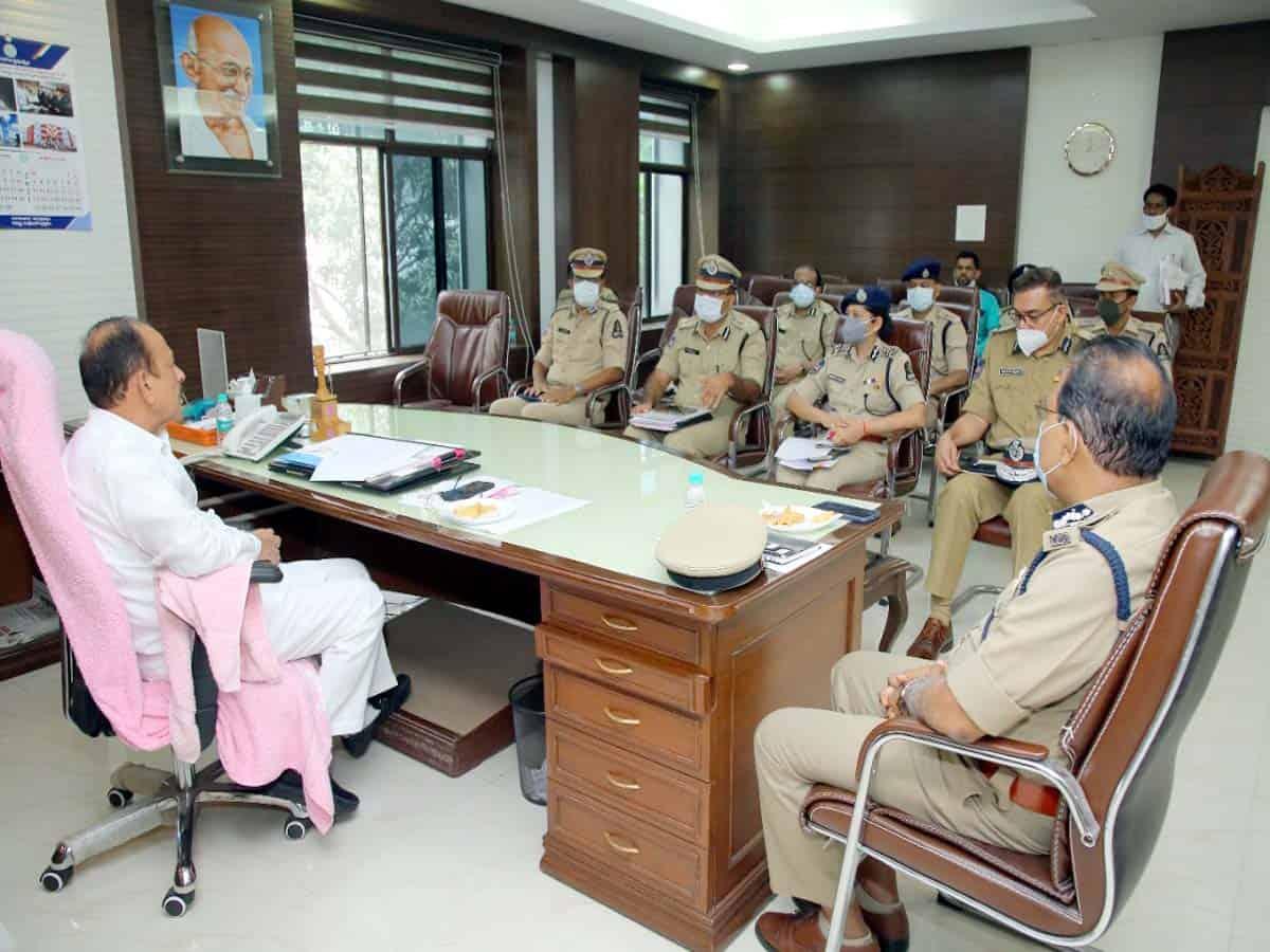 Home minister Mahmood Ali reviews Saidabad rape and murder case