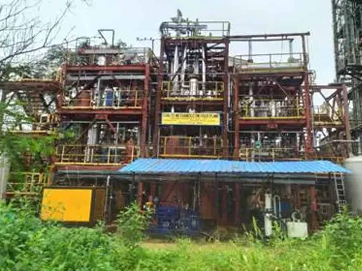 India's first pilot plant in Hyderabad converts high ash coal to methanol