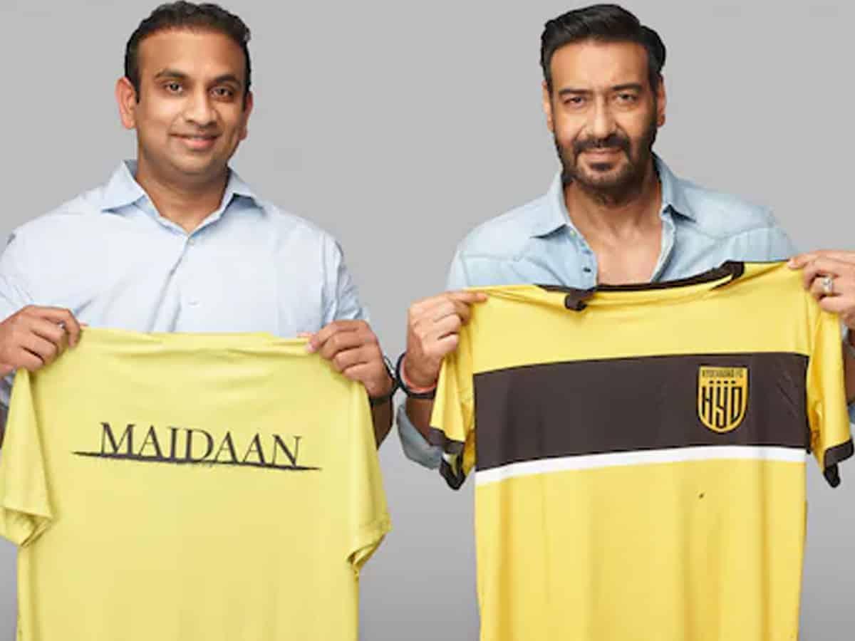 Ajay Devgn-starrer 'Maidaan', Hyderabad FC in tie-up to nurture football talent