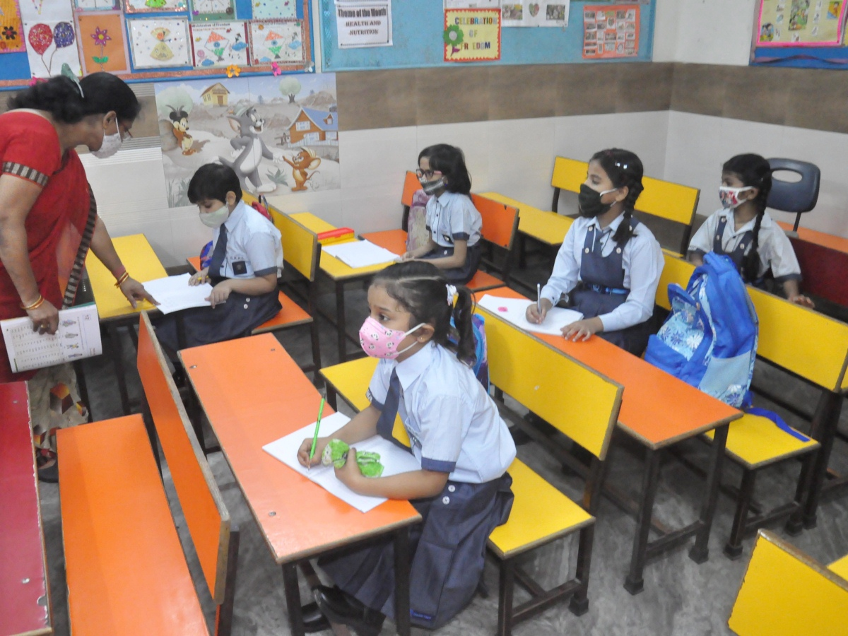 Schools reopen in Hyderabad with 21 percent attendance