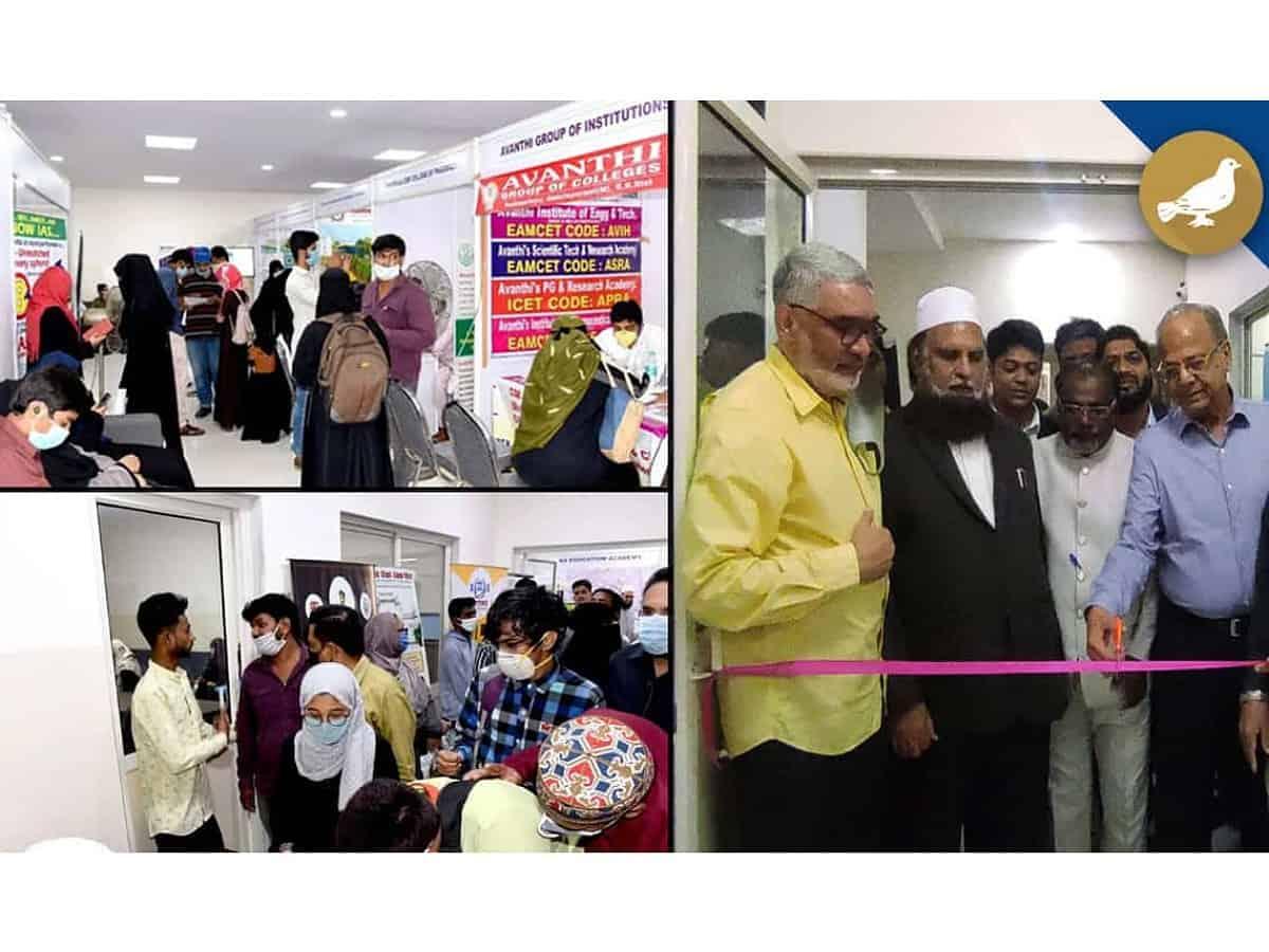 Siasat Education Fair concludes successfully