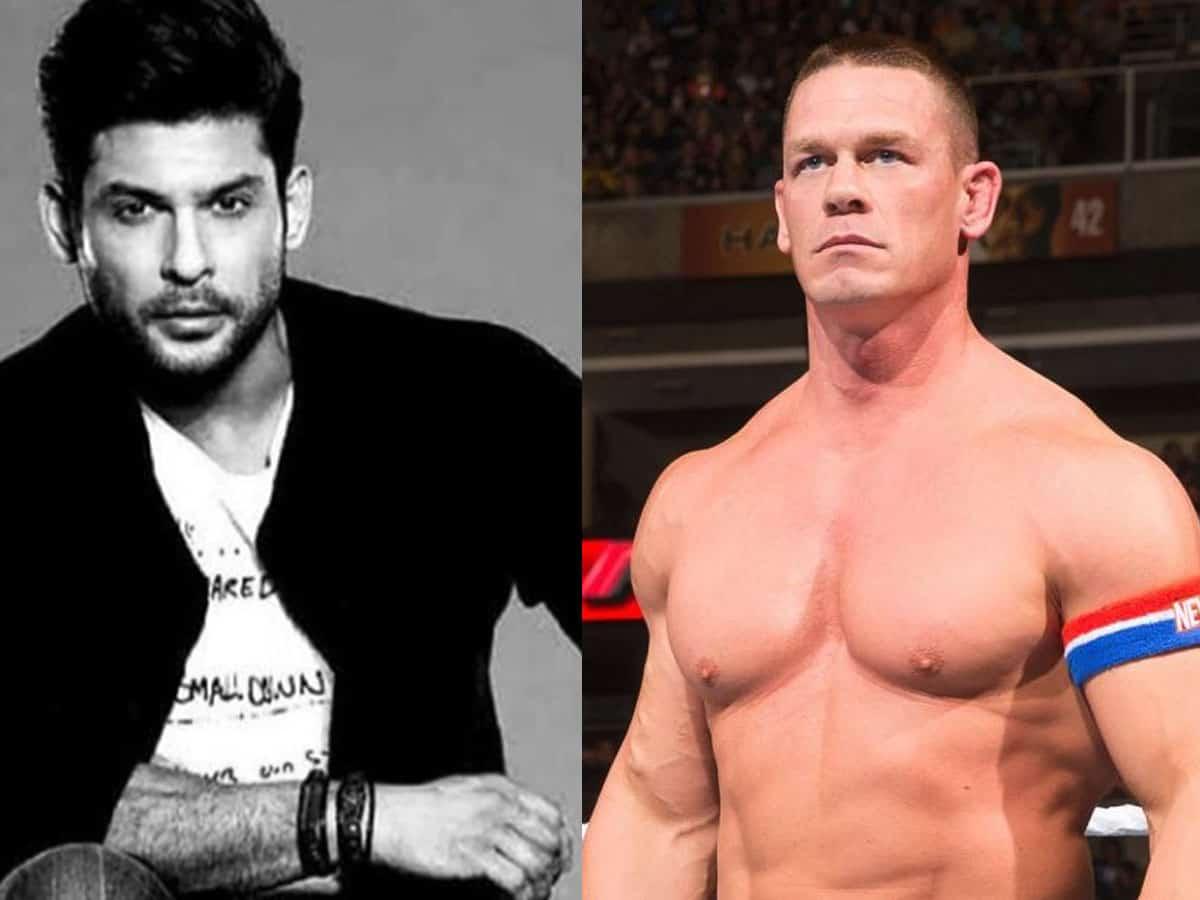 John Cena's photo tribute to Sidharth goes viral