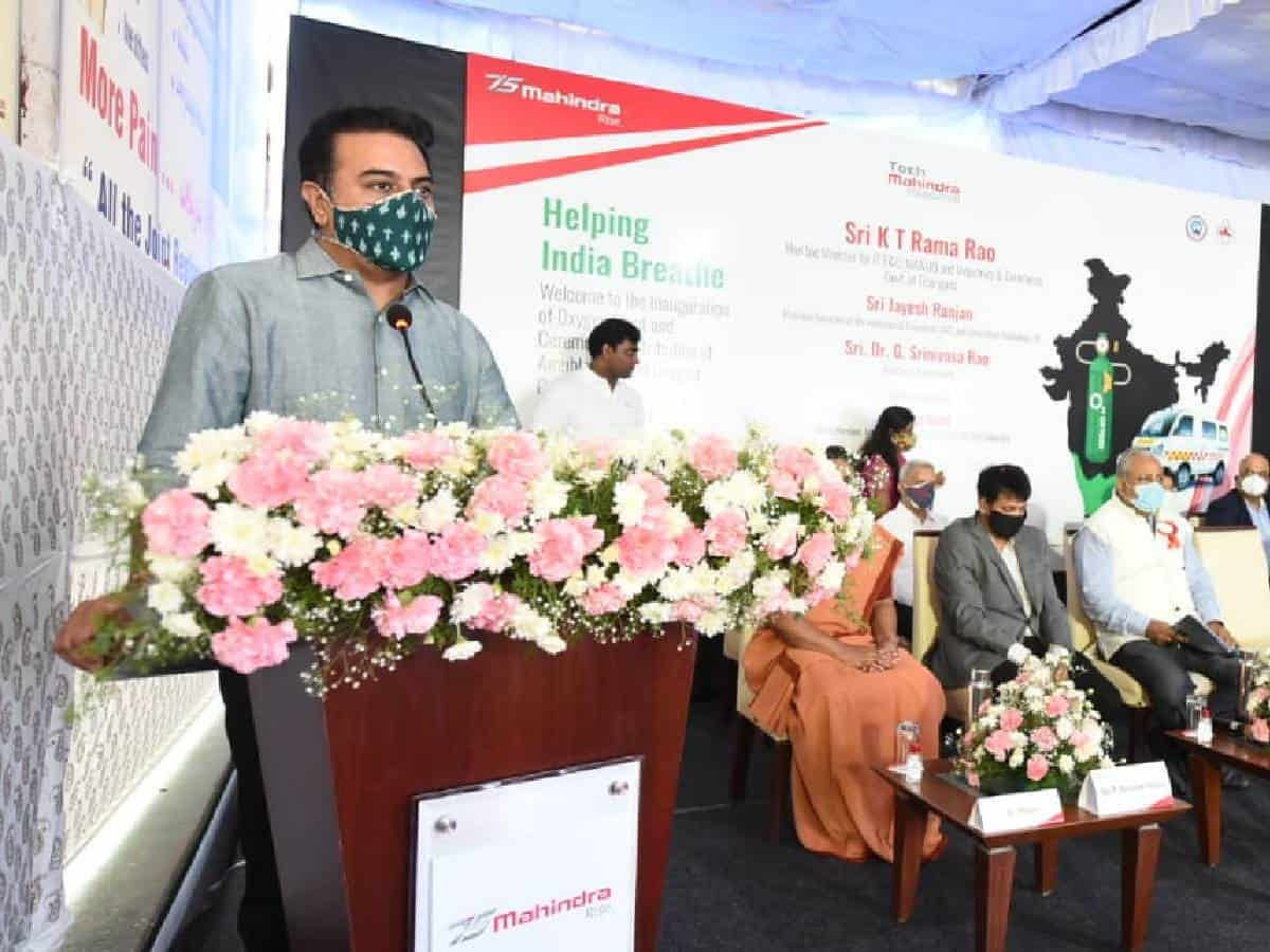 COVID-19 under control in Telangana, cases only in 100s: KTR