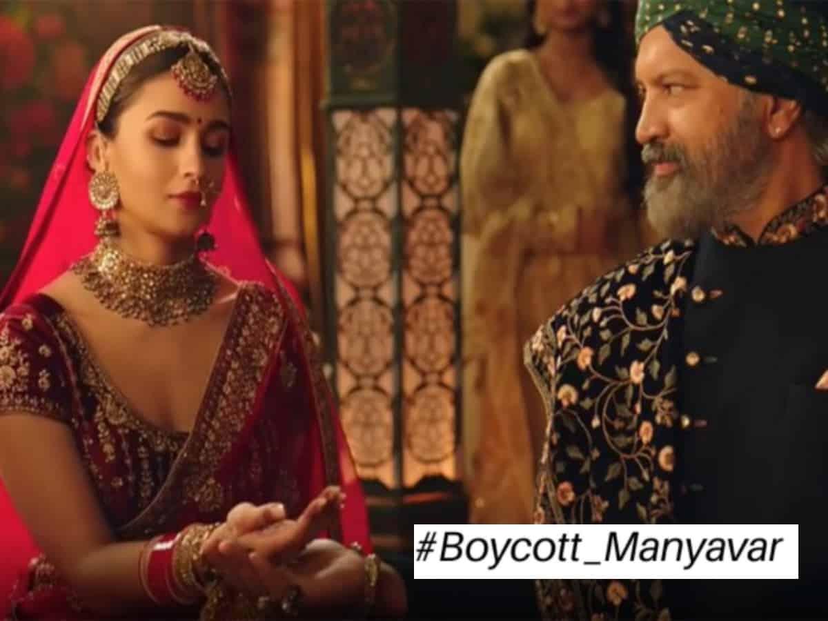 #BoycottManyavar trends after Alia Bhatt's ad sparks outrage