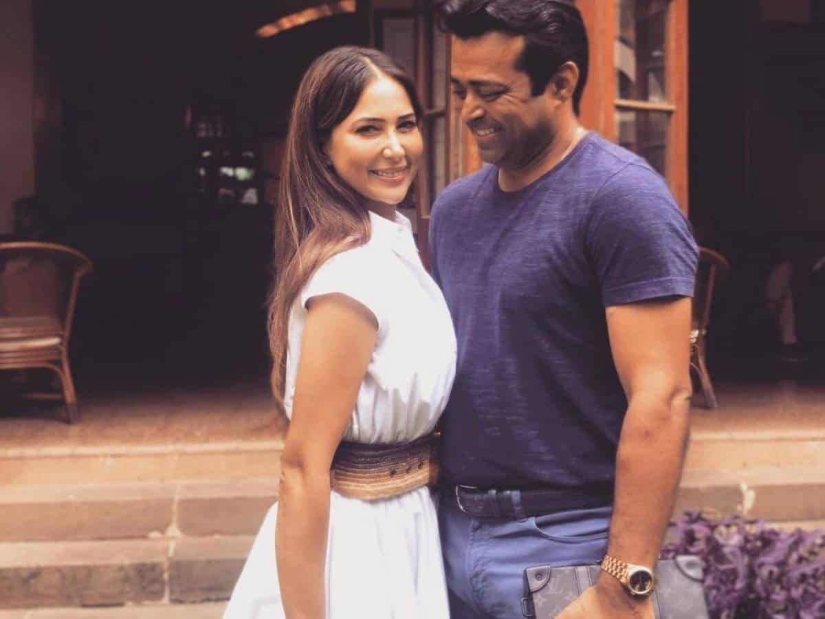Kim Sharma confirms she's in a relationship with Leander