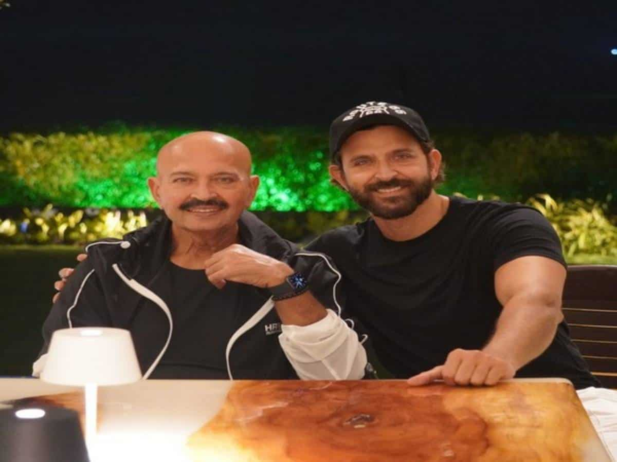 Hrithik Roshan wishes to be as 'strong' as his father Rakesh Roshan