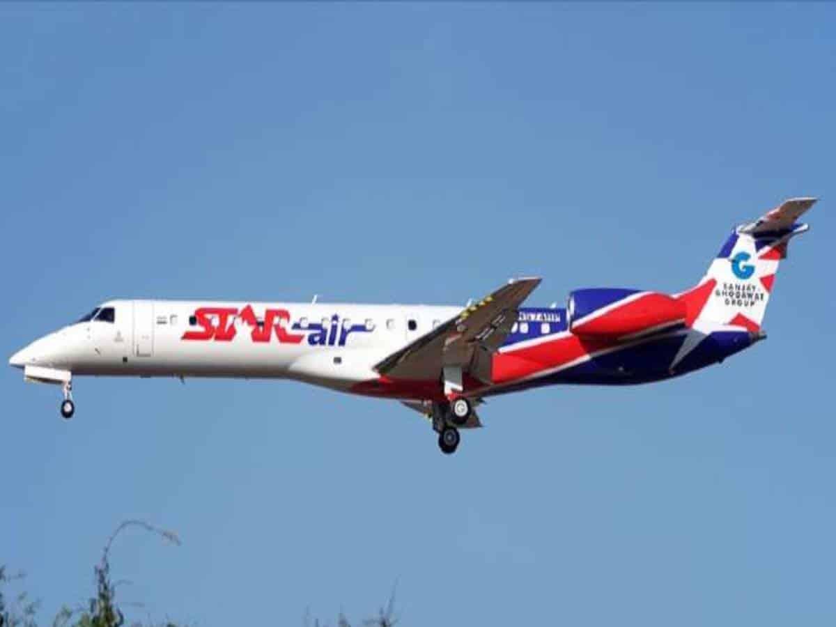 Star Air begins operations from Jamnagar to Hyderabad, Bengaluru