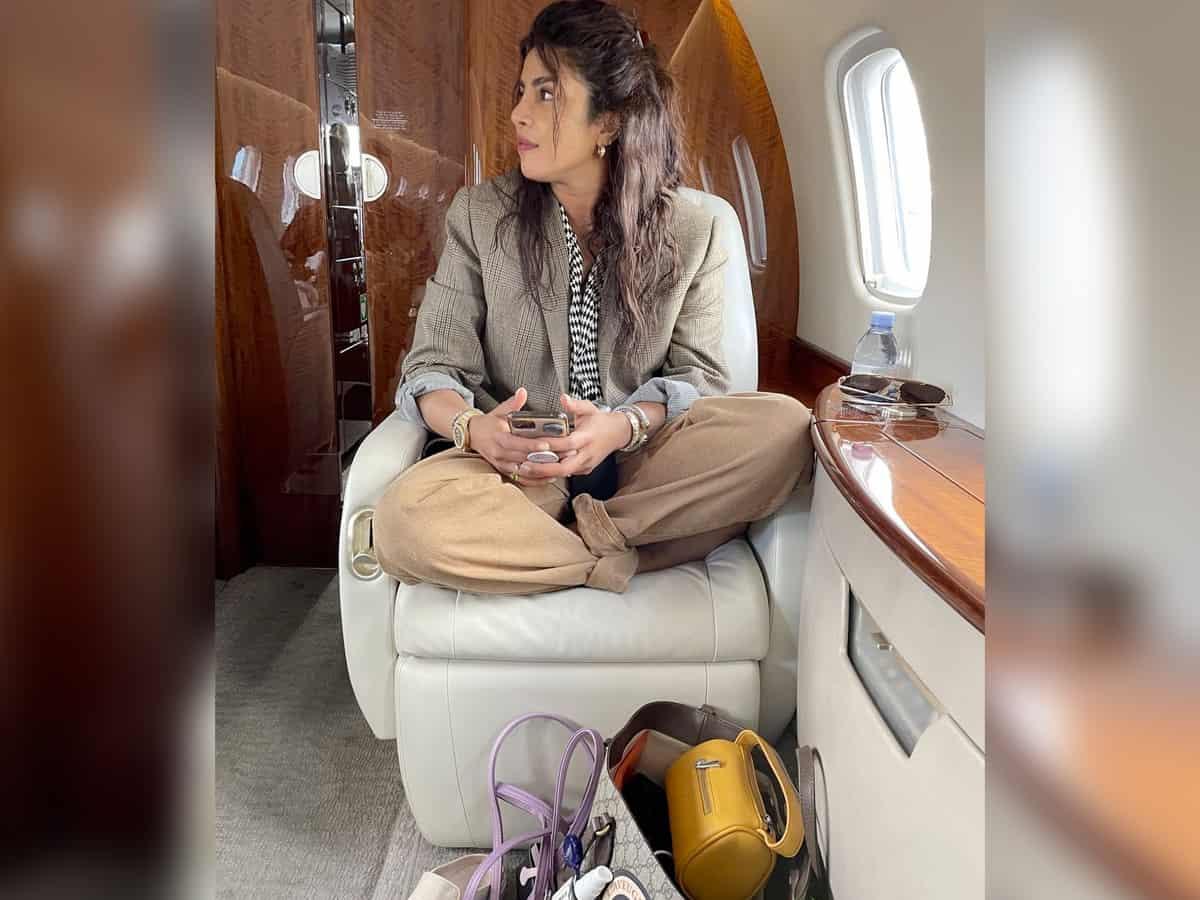 Inside Priyanka Chopra's luxurious private jet [PHOTOS]