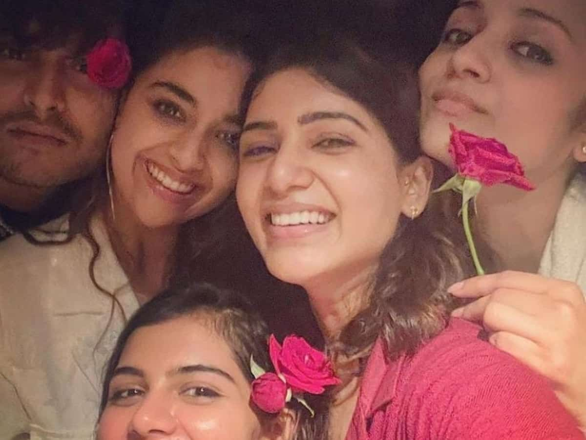 Samantha Akkineni uploads series of pictures on social media account