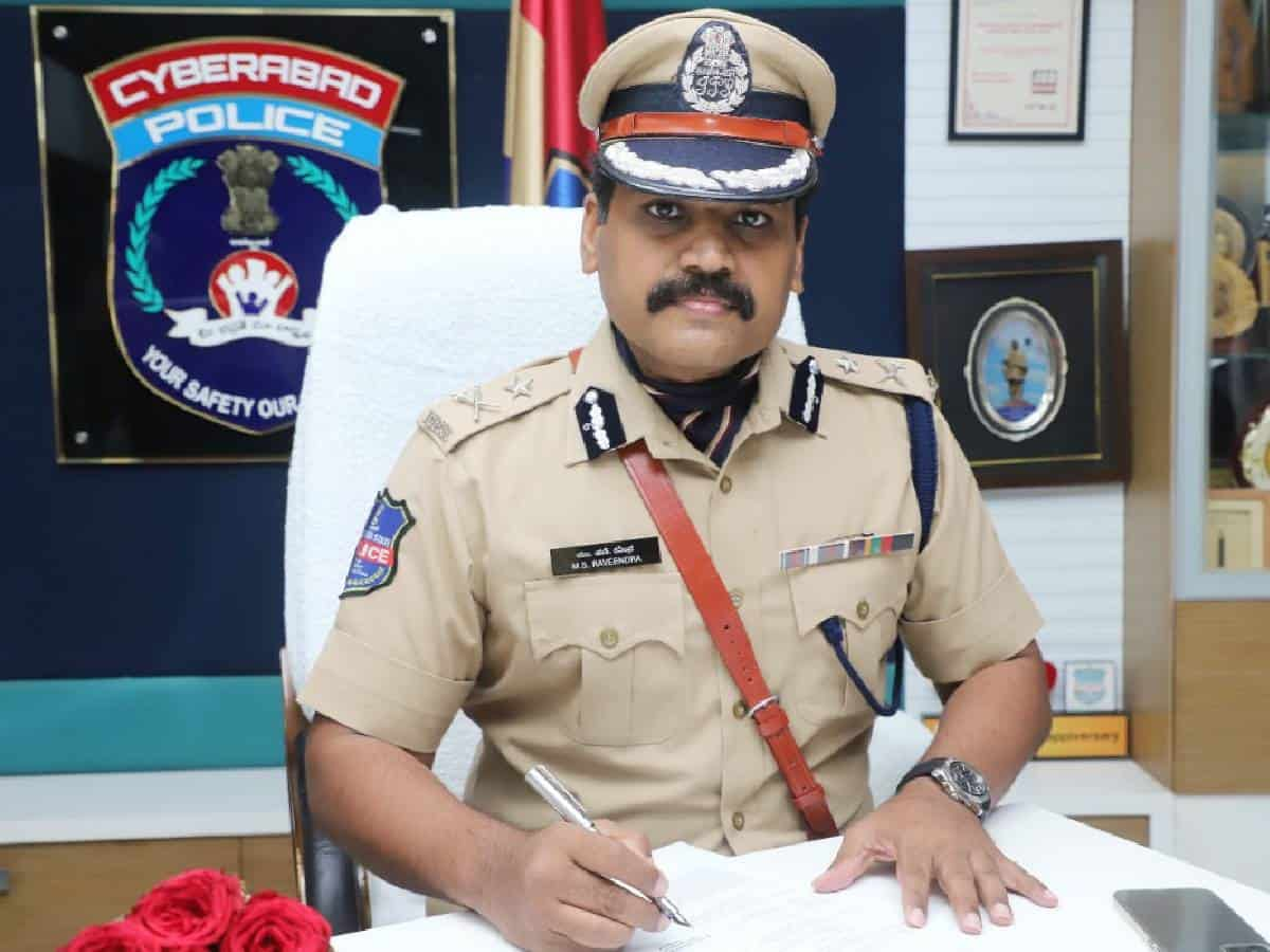 Cyberabad commissioner asks officers to clear pending cases in
