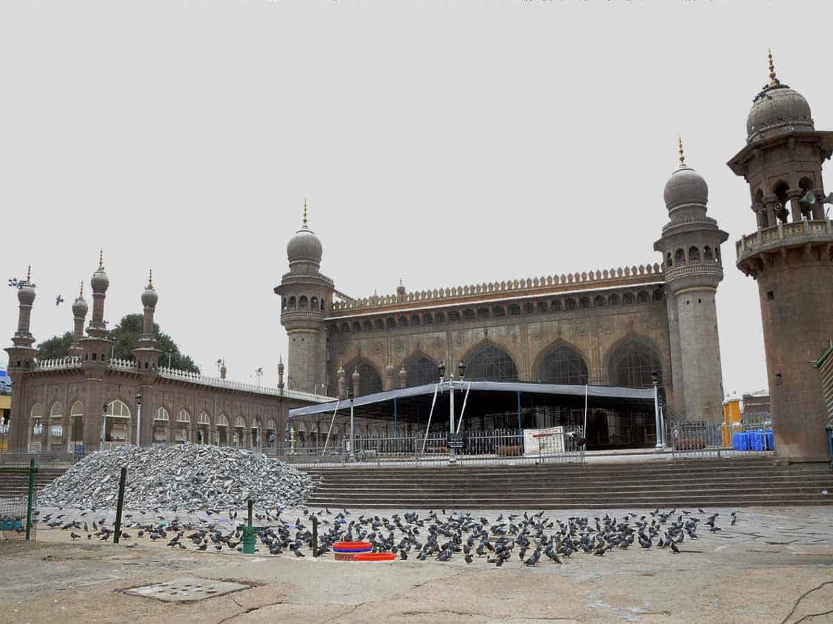 After 1948, Jama Masjid chowk employs Urdu in sermons for the first time