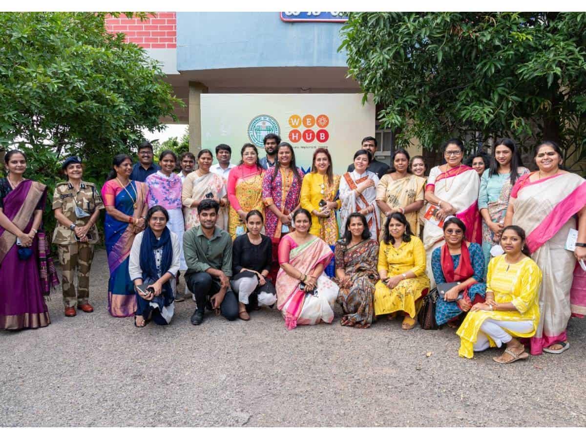 Parliamentary standing committee on women empowerment visits WE HUB