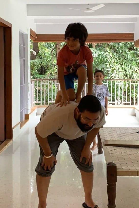 Step inside Aamir Khan's warm & luxurious house