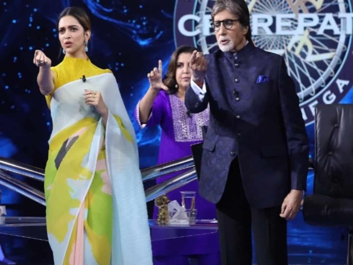 Amitabh Bachchan recreats iconic 'ek chutki sindoor' on KBC 13, watch
