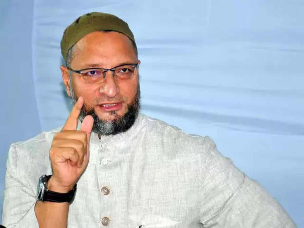 Asaduddin Owaisi seeks LS speaker's intervention in house vandalism case