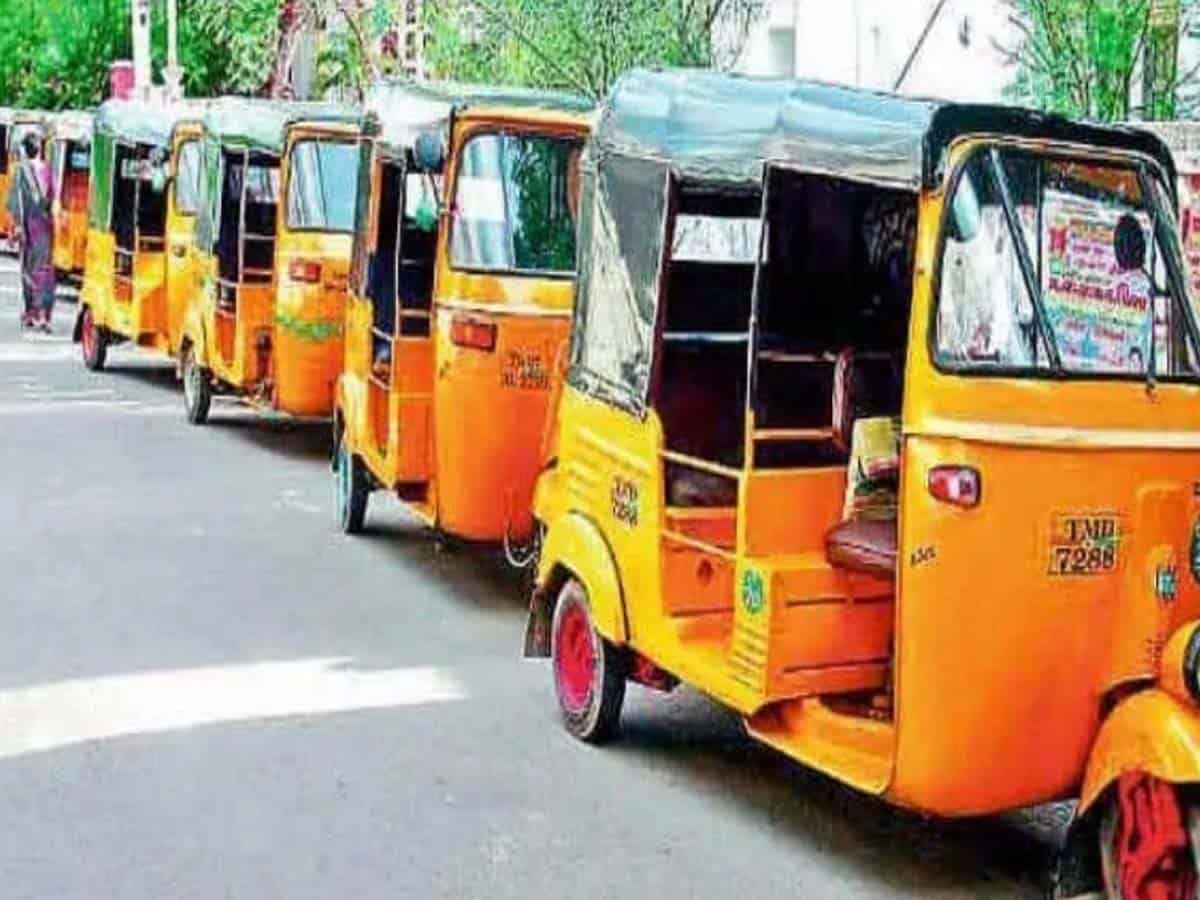 Auto driver attempts suicide in front of TS Assembly