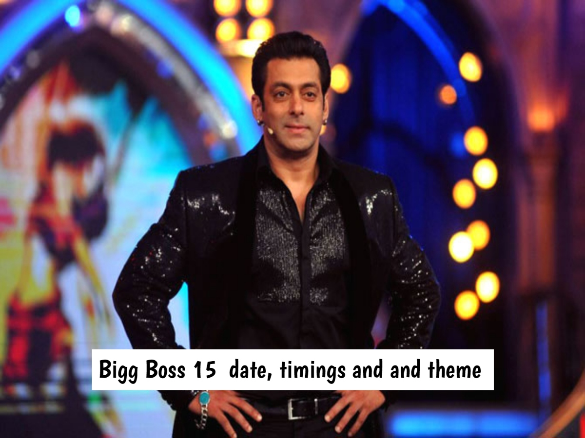 Bigg Boss 15: Premiere date, timings and theme of the show