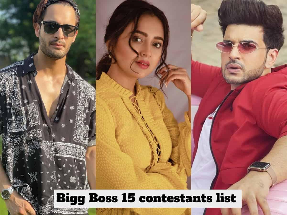Bigg Boss 15: Karan to Afsana, meet top 9 confirmed contestants & their photos