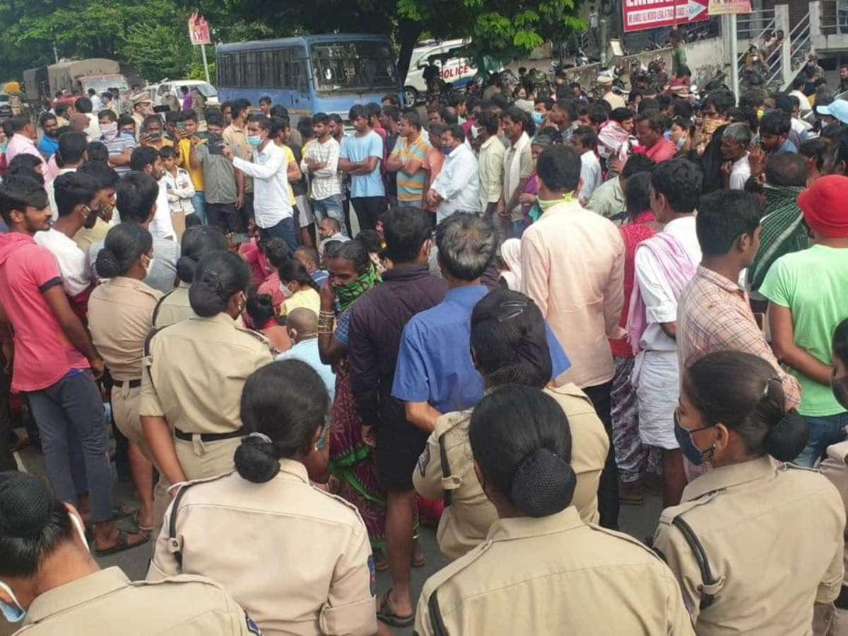 Tension in Saidabad after six-year-old girl raped, murdered