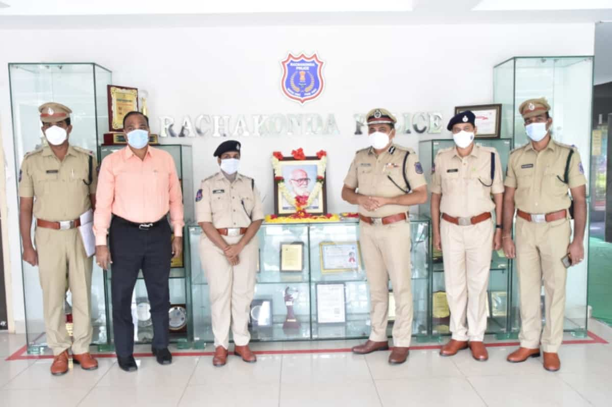 Rachakonda Police celebrates 107 birthday of Kaloji Narayana Rao