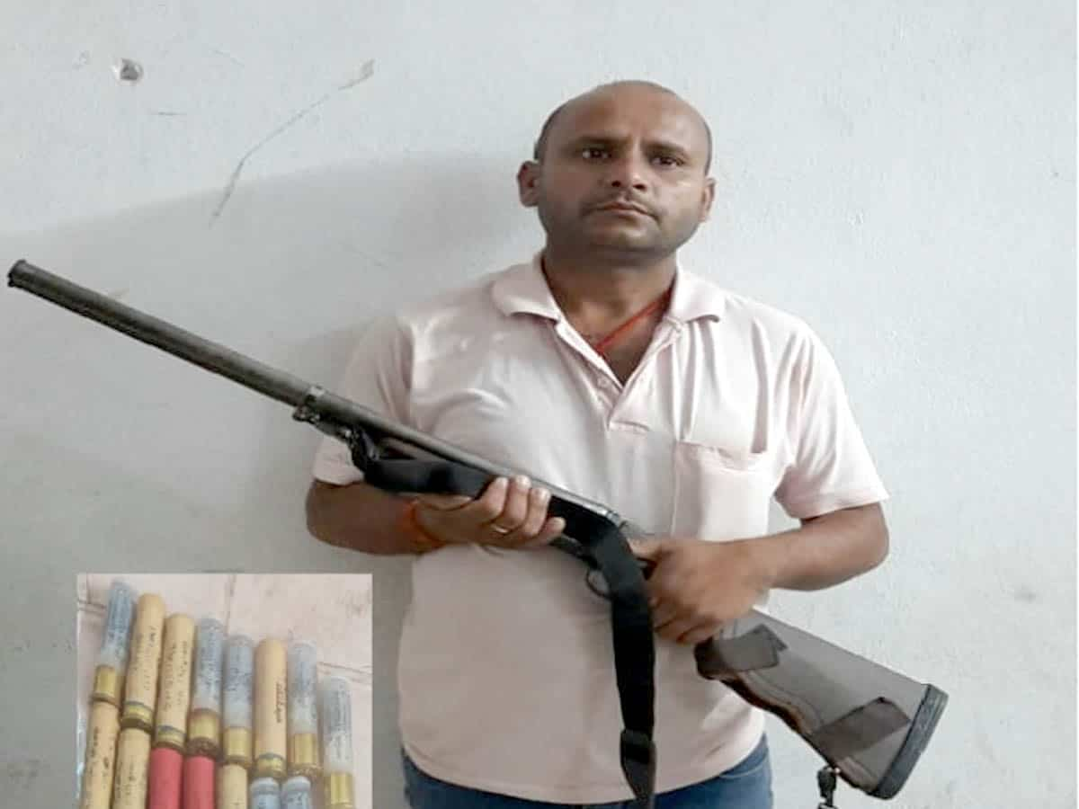 Hyderabad: Security guard held for holding fake arms license