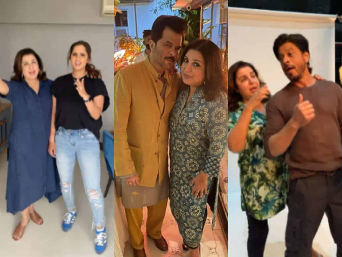 Sania Mirza to SRK: All celebs COVID+ Farah Khan met recently