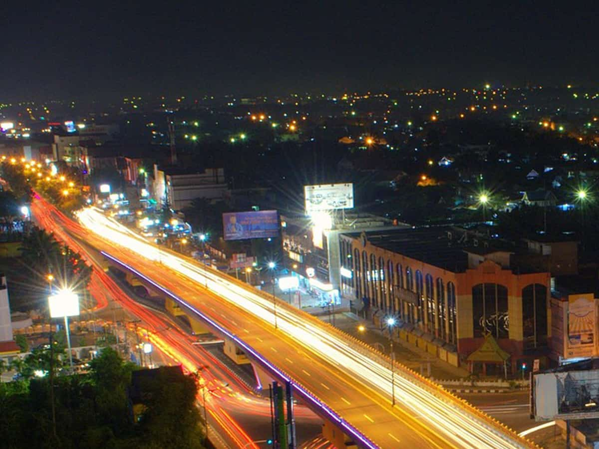 Hyderabad infrastructure on the path of  rapid progress