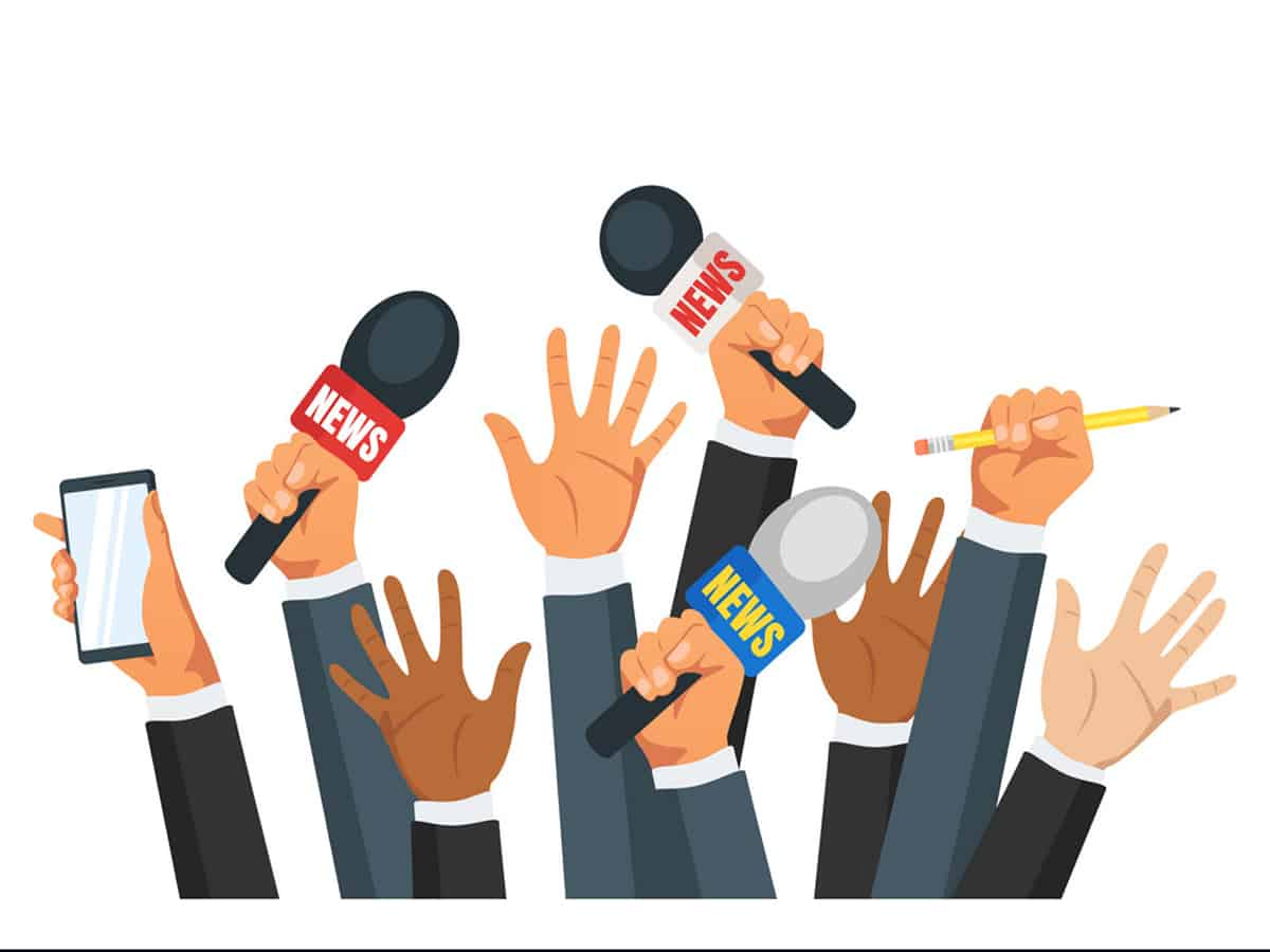 Journalists in T'gana to hold protest programs on Oct. 2