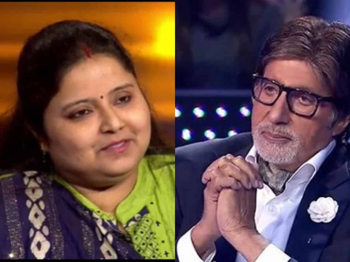 KBC 13: 12.5 L question that made Ayesha to quit show
