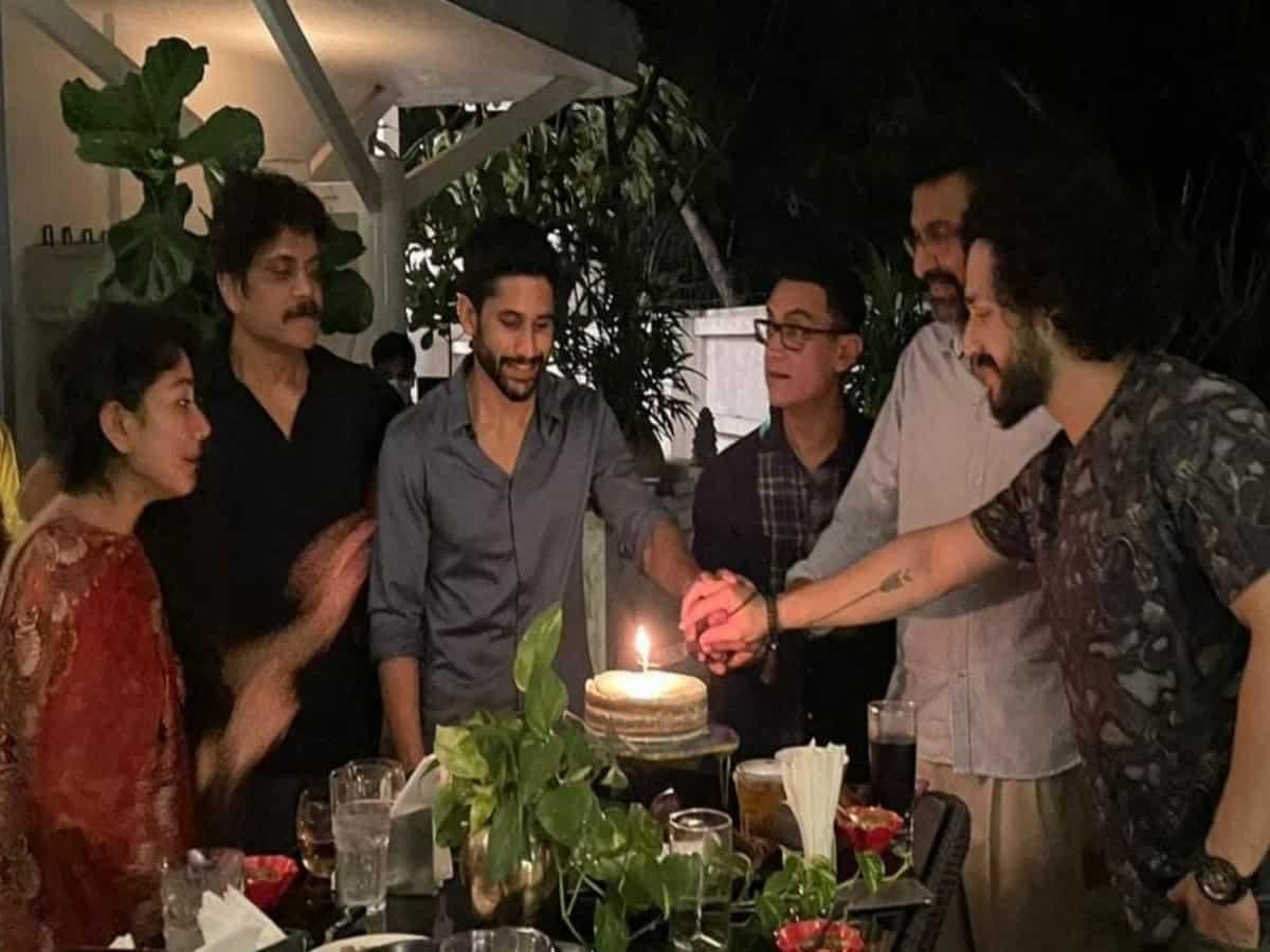 Nagarjuna gets emotional during dinner with Aamir Khan in Hyderabad