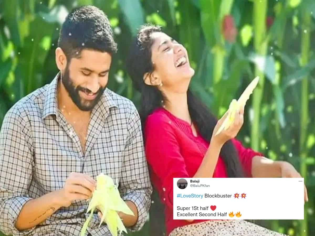 Love Story review: Netizens declare Naga Chaitanya, Sai Pallavi-starrer a blockbuster