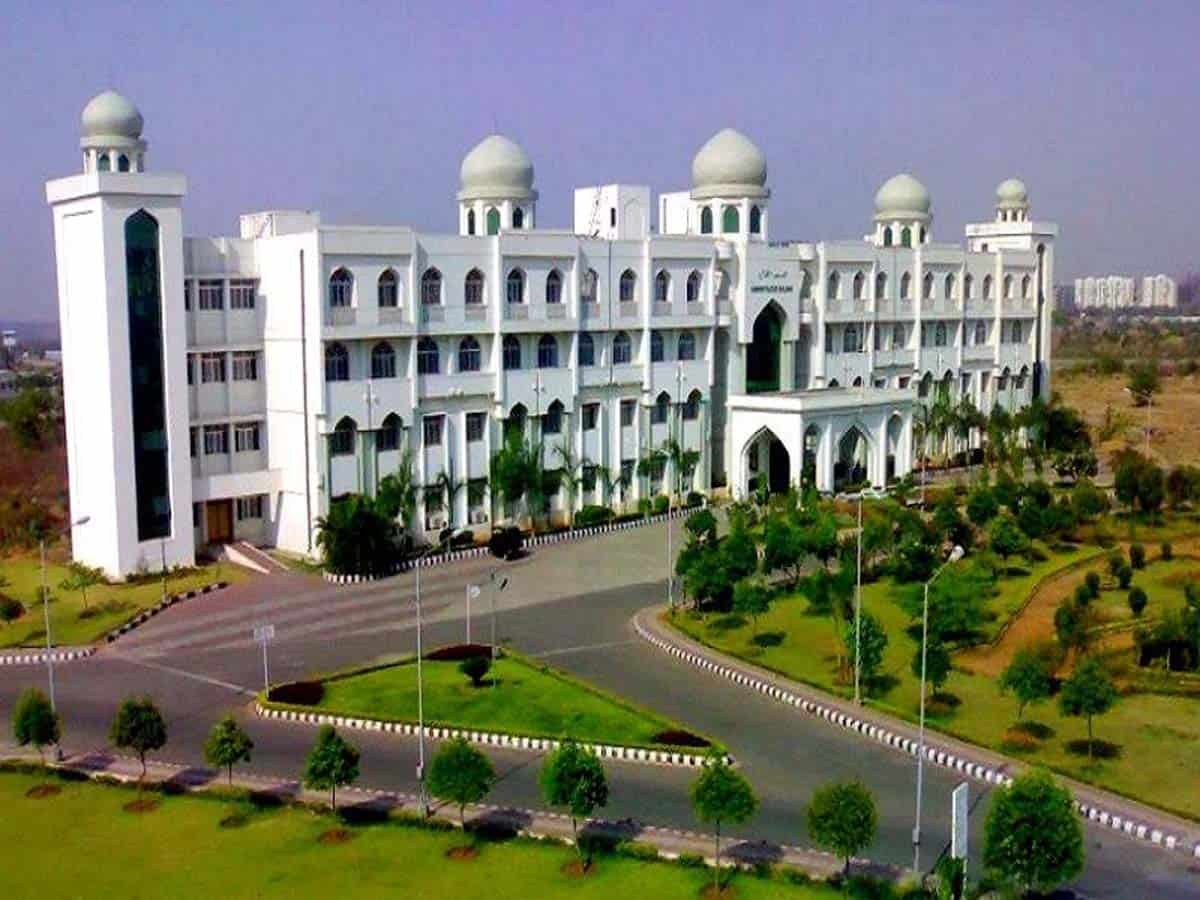 Today is last day for admission into various courses at MANUU