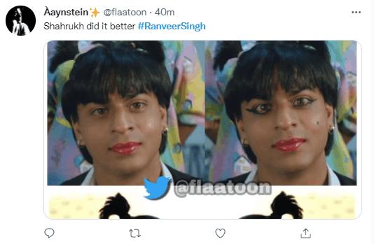 Ranveer Singh's latest ponytail hairdo goes viral