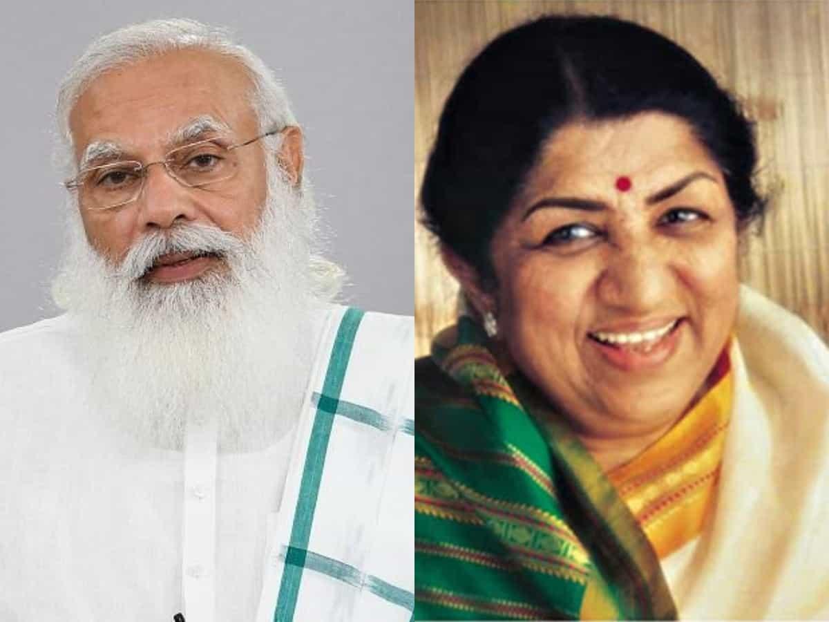 PM Modi wishes Lata Mangeshkar on her 92nd birthday