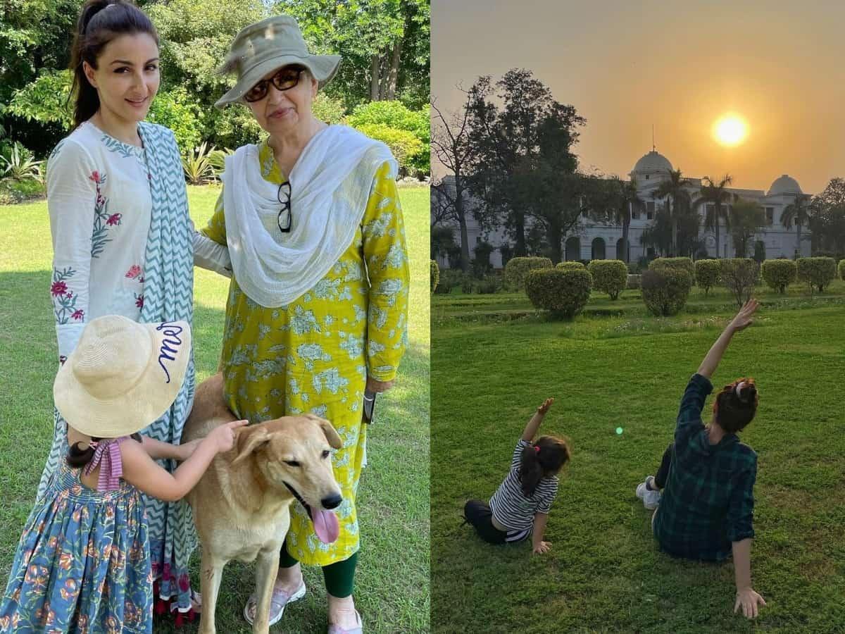 Inside Pataudi Palace's green-lush garden [Photos]