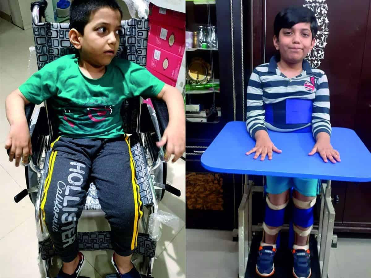 UAE-based Hyderabadi parents seeks help for 8-yr-old son's Rs 5 Cr treatment