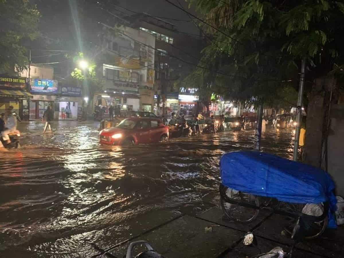 Cyclone Gulab: Heavy rains lash Hyderabad, Telangana; to continue till Sept 29