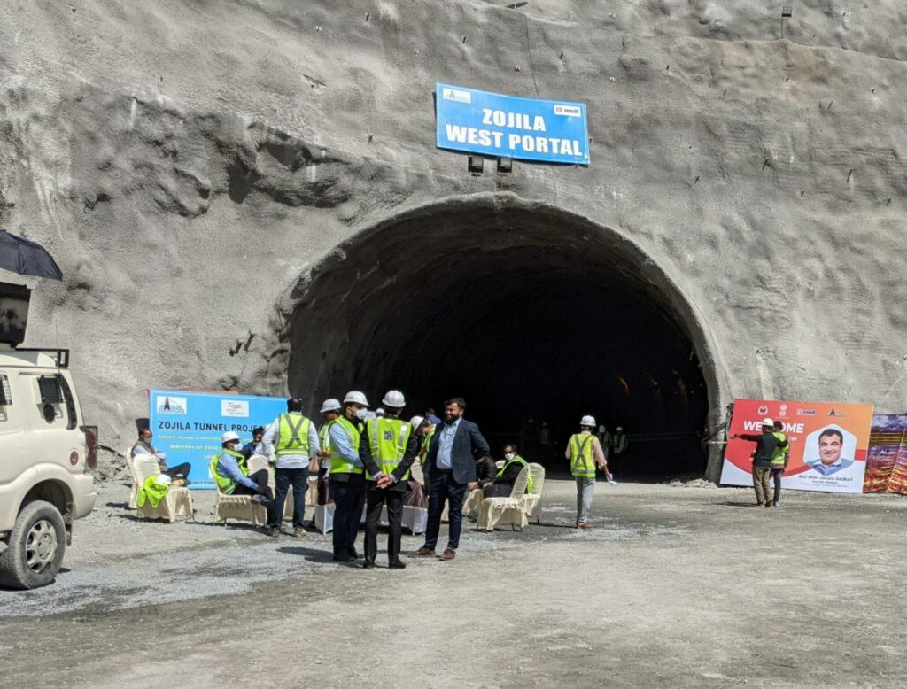 Zojila tunnel: Hyderabad's MEIL is making an engineering marvel in the Himalayas