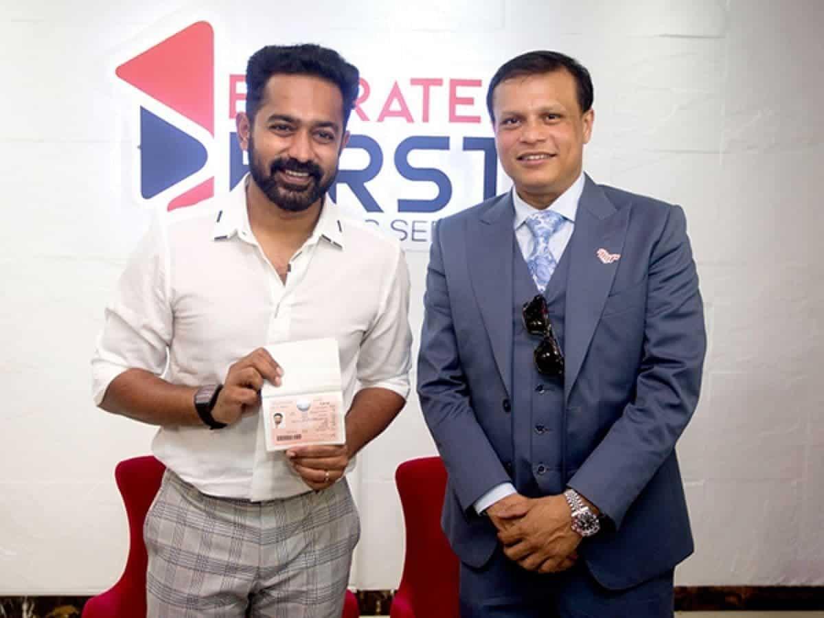 Malayalam actor Asif Ali gets UAE golden visa