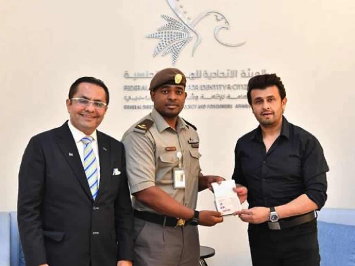 Bollywood singer Sonu Nigam latest to get UAE golden visa