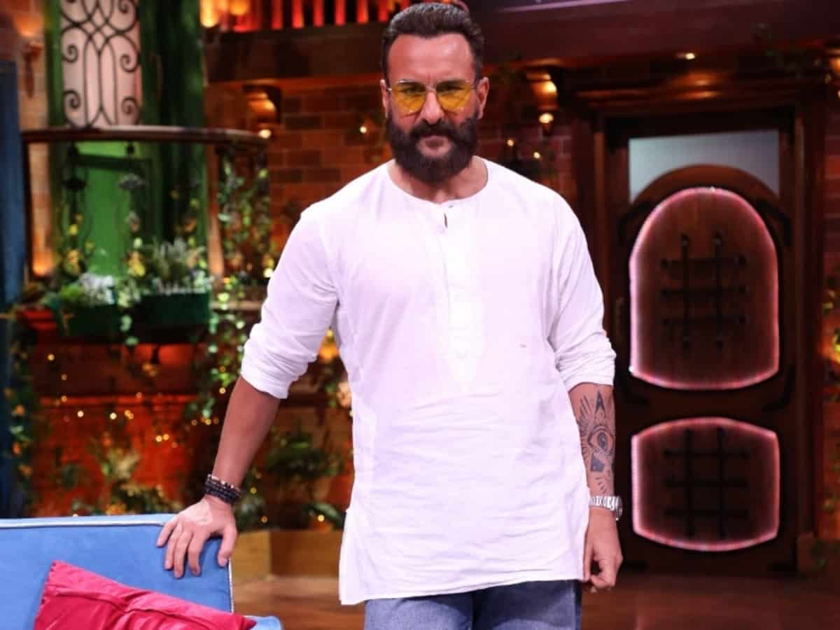Saif reveals why he can't sing lullabies to his kids